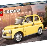 Revive «La Dolce Vita» gracias a este SET Creator Expert de LEGO: ¡El Fiat 500F!