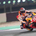 Test MotoGP en Qatar 2020 en directo: tres motos para Marc