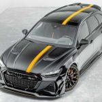 ¡BRUTAL! El coche familiar deportivo definitivo es el Audi RS6 de Mansory