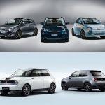 Comparación visual Honda e vs. Fiat 500e 2020: ¿Tú con qué urbano eléctrico te quedas?