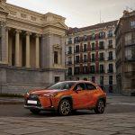 El Lexus UX 250h recorre Madrid en su última campaña