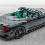 La propuesta de Mansory no es lo que esperarías de un Bentley Continental GT V8 Cabriolet