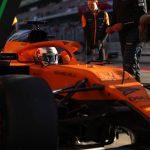 McLaren tiene un problema con la congelación del chasis