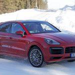 Porsche Cayenne Coupé GT. Tests invernales