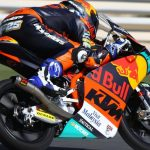 Raúl Fernández se estrena liderando con la KTM en Qatar