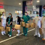 Menús solidarios para sanitarios y familias sin recursos de Madrid