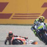 """""""Algunos amigos de Rossi se pusieron muy agresivos con Márquez"""""""