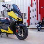 Las ventas de motos cayeron un 93,3% en abril