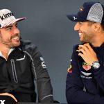 """Sainz a Ferrari, Ricciardo a McLaren y Alonso a Renault"""