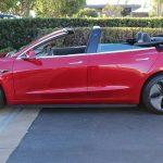 Tesla Model 3 Cabrio. Newport Convertible Engineering lo hace posible