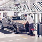 Un minuto de silencio: Bentley fabrica la última unidad del Mulsanne