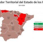 ¿Dónde están las peores y mejores carreteras de España?