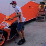 GP de Andalucía en directo: Márquez ya está en el box