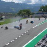 Carrera Moto2 en directo: bandera roja por Bastianini