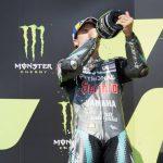 Emocionante y sincera alegría de Rossi por el podio de Morbidelli