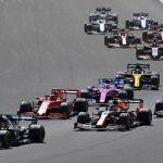 Hamilton gana en Silverstone con una rueda pinchada
