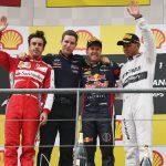 Los diez pilotos con más podios