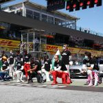 Minutos de silencio contra el racismo y por Hubert en Spa