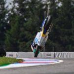 Peligroso vuelo en el GP de la República Checa