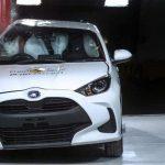 El Toyota Yaris estrena los nuevos test de EuroNCAP, y lo hace con 5 estrellas
