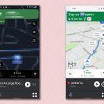 Google Maps se está actualizando con un modo de conducción para el coche más simple, más Android Auto