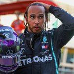 Hamilton tose a Schumacher