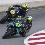 Morbidelli lidera en otra exhibición de las Yamaha