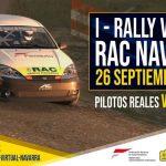 RAC Virtual de Navarra: pilotos reales y virtuales, cara a cara