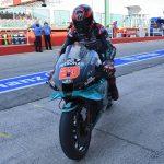 Recital Yamaha: Quartararo, Morbidelli y Maverick delante