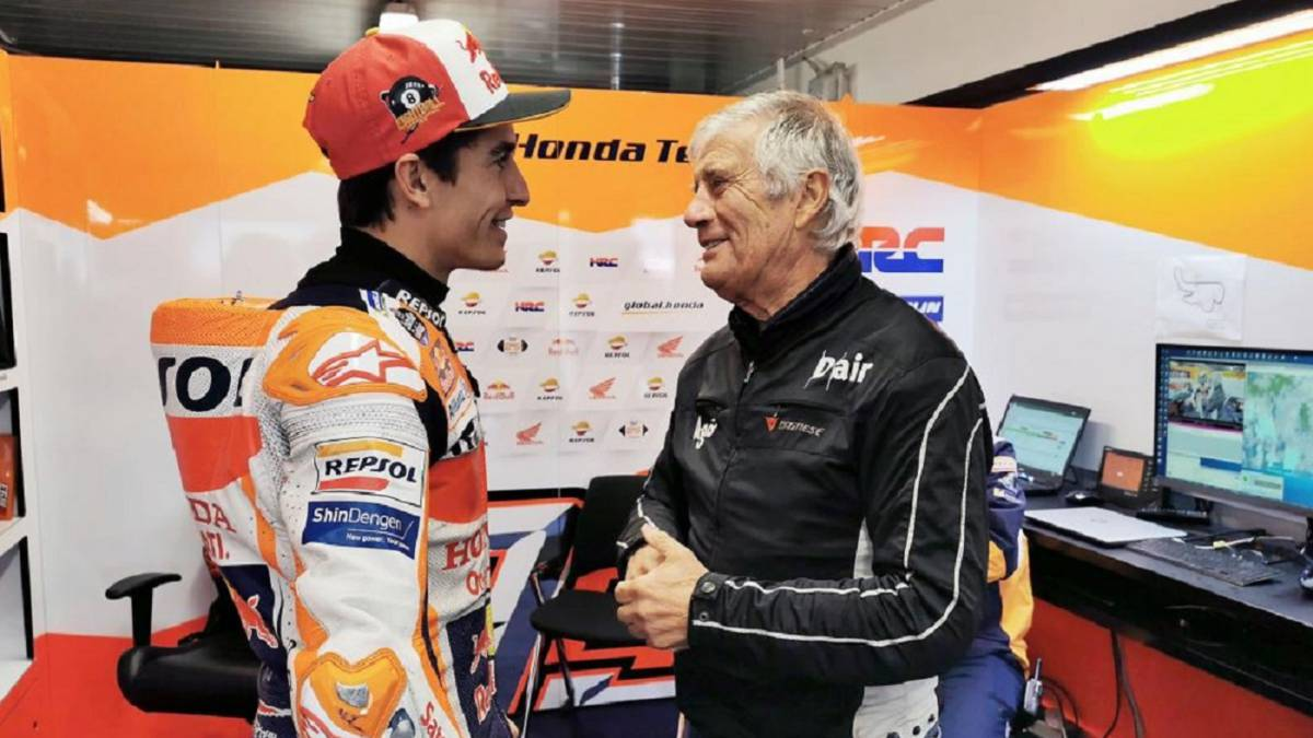 """Agostini: """"¿Cuándo vuelve Márquez? Le echo de menos"""""""