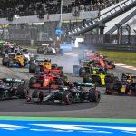 Hamilton está a solo cinco vueltas de la victoria