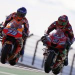 Las cuatro Ducati luchan en Q1