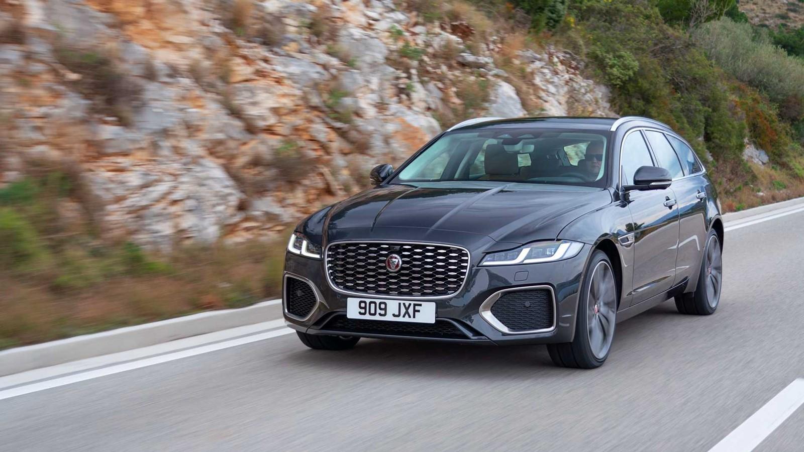 ¡Oficial! Jaguar XF Sportbreak 2021: Extra de equipamiento, tecnología y eficiencia para el ...