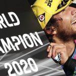 Bastianini sufre a lo Arenas para coronarse campeón de Moto2