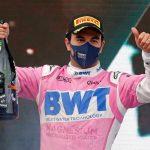 """Checo Pérez se gana el podio: """"Estoy a un gran nivel en 2020"""""""