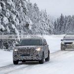 El nuevo Land Rover Range Rover 2022, cazado en las pruebas de invierno