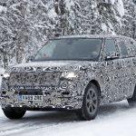 El Range Rover 2021 sigue sus pruebas