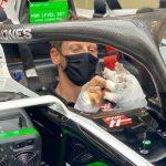 Grosjean vuelve a subirse a su monoplaza en Sakhir