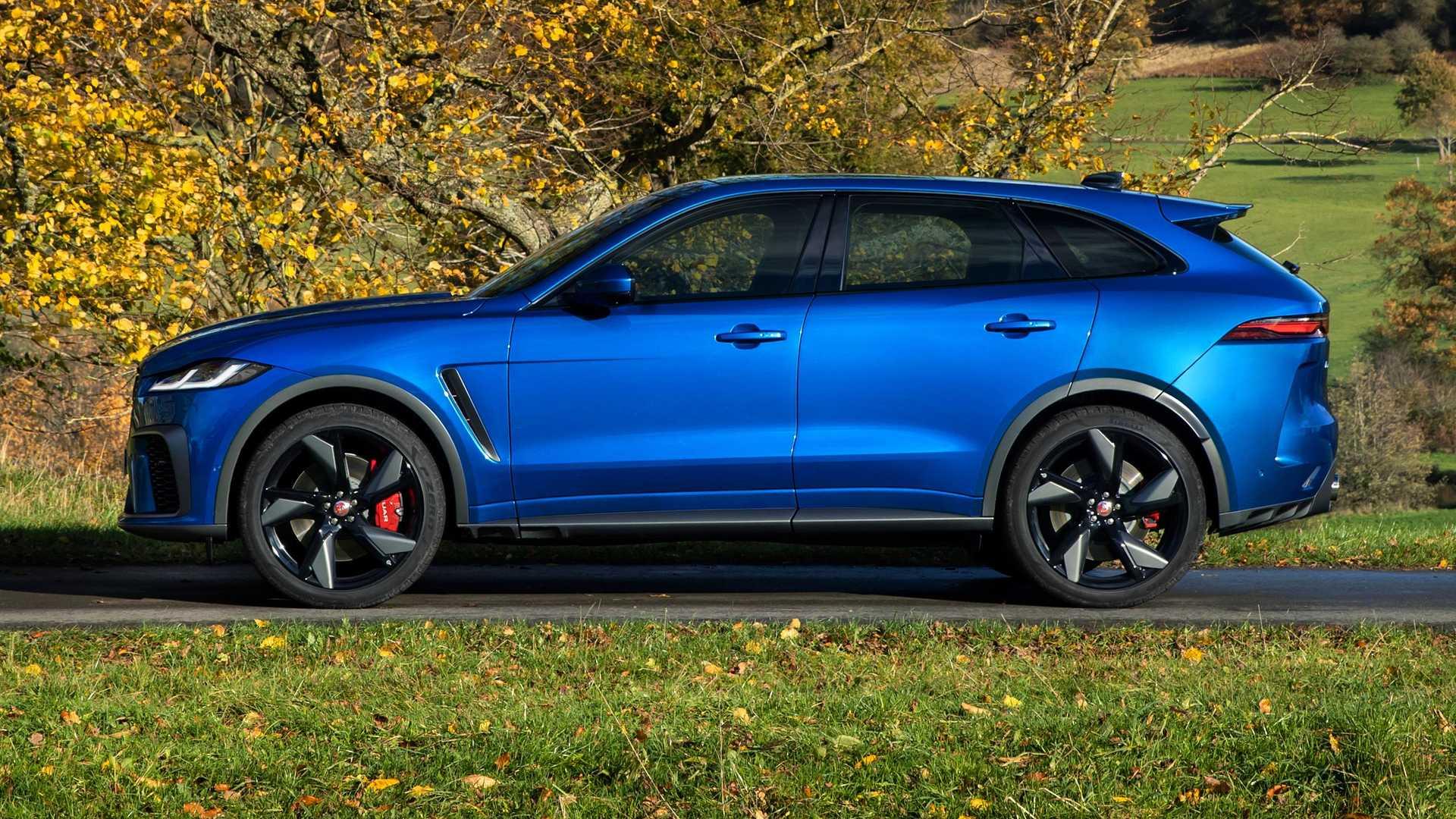 ¡Oficial! Jaguar F-Pace SVR 2021: tan lujoso y potente ...