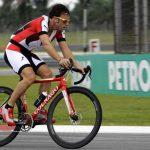 Primer mensaje de Alonso tras su accidente en bicicleta