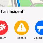 Apple Maps copia a Google Maps y Waze y empieza incluir avisos de radares móviles o accidentes