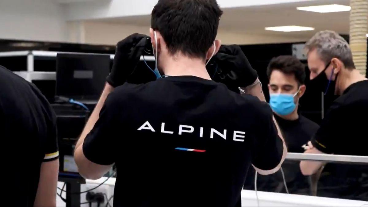 Así suena el Alpine de Alonso
