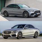 Comparación visual Mercedes-Benz Clase C 2021: