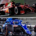 Alonso y Sainz: año de podios