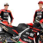 Aprilia presenta su nueva RS-GP con Gresini en el recuerdo