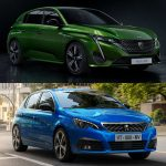 Comparación visual Peugeot 308 2021: ¿Crees que le han sentado bien los cambios al compacto?
