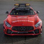 Mercedes-AMG presenta los Safety Car para la F1 2021: adiós al plata, hola al rojo