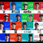 MotoGP 2021: pilotos, equipos y parrilla del Mundial