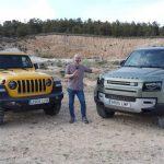 Comparativa 4x4: Land Rover Defender 90 vs Jeep Wrangler Rubicon, ¿cuál es el mejor todoterreno a la venta en Europa? [vídeo]