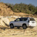 El Toyota Land Cruiser recibe mejoras: Más dotación estándar